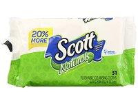 Scott Naturals Flushable Cleansing Cloths, 51 ct - Image 2