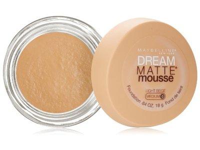 Maybelline New York Dream Matte Mousse Foundation, Light Beige, 0.64 Ounce