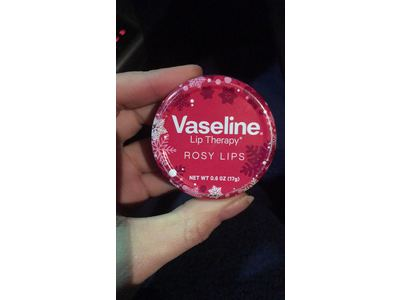 Vaseline Lip Therapy Rosy Lips Holiday Edition 0.6 oz / 17 g - Image 3