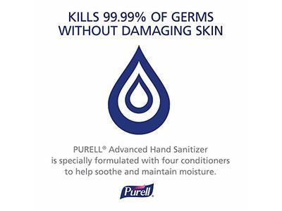 PURELL Advanced Hand Sanitizer Gel, Refreshing Fragrance, 1 fl oz (Pack of 36) - Image 10