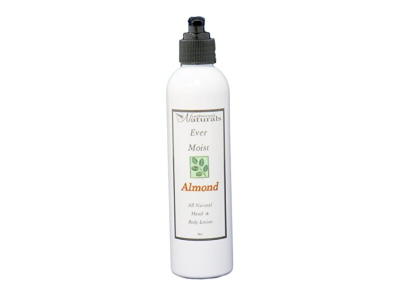 Northwood Naturals Ever-Moisture Hand & Body Lotion, Almond, 8 oz