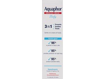 Aquaphor Baby 3-in-1 Diaper Rash Cream, 3.5 oz - Image 4