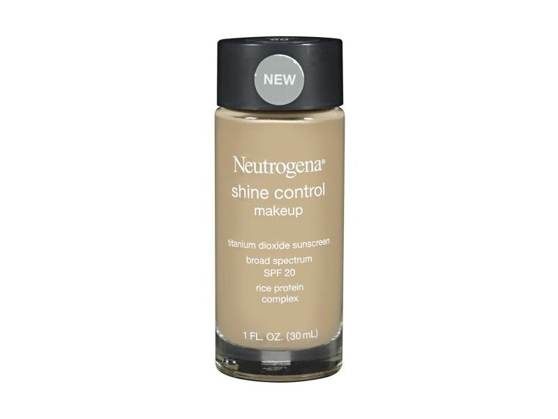 Neutrogena Shine Control Liquid Makeup, Natural Beige Shade, 1 fl oz