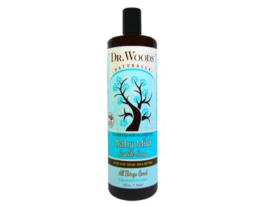 Dr. Woods Baby Mild Castile Soap, Unscented, 32 fl oz