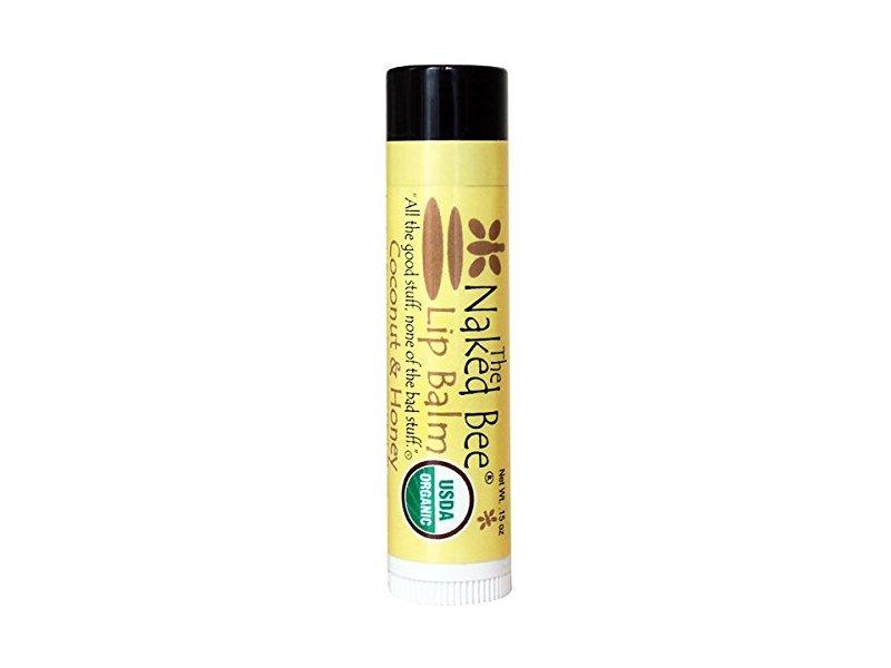 The Naked Bee Coconut Honey Lip Balm 0.15 oz Brand New