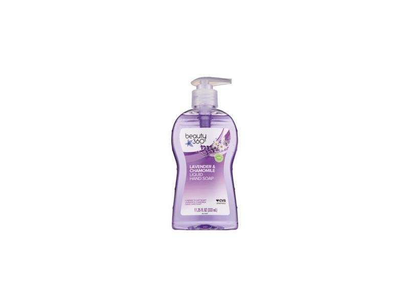 Beauty 360 Soothing Hand Soap Lavender And Chamomile