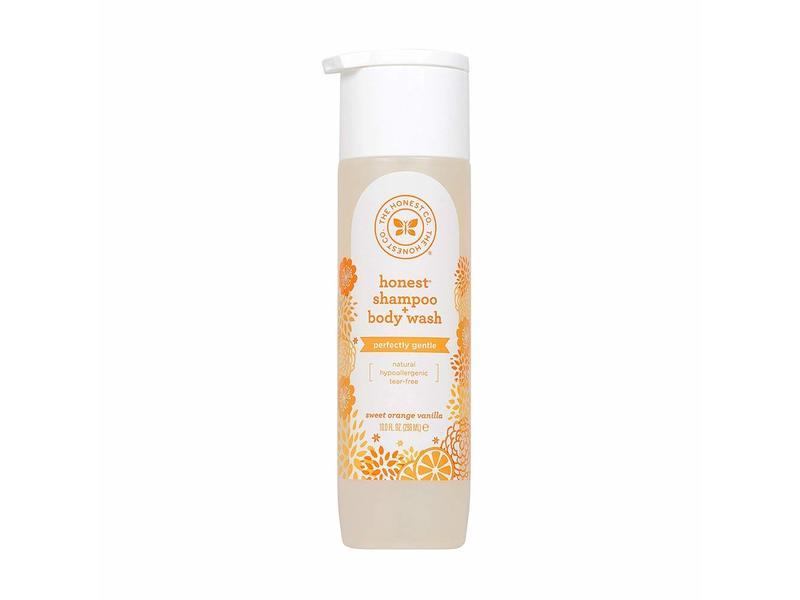 The Honest Company Shampoo & Body Wash, Perfectly Gentle Sweet Orange Vanilla, 2 pack