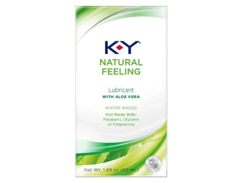 K-Y Natural Touch, Aloe Vera, 1.69 fl oz