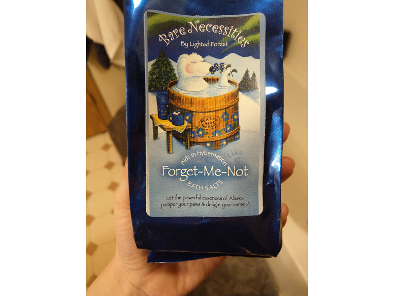 Bare Necessities Forget-My-Not Bath Salts