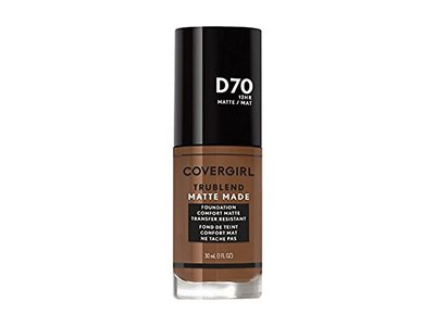 CoverGirl Trublend Matte Made Liquid Foundation, D70 Cappuccino, 1 fl oz