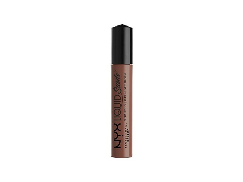 NYX Professional Makeup Liquid Suede Cream Lipstick, Sandstorm, 0.13 Fluid Ounce