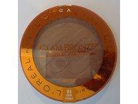 L'Oréal Paris Glam Bronze Bronzer for Face & Body, 03 Deep Foncé, 0.41 oz - Image 2