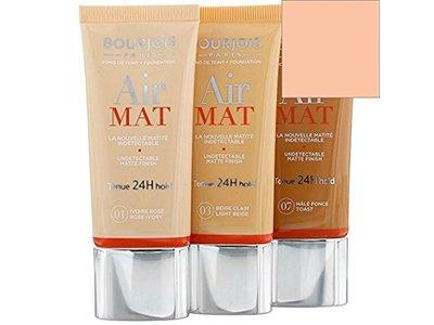 Bourjois Air Mat Mattifying Foundation, 07 Hale Fonce (Toast), 30 ml