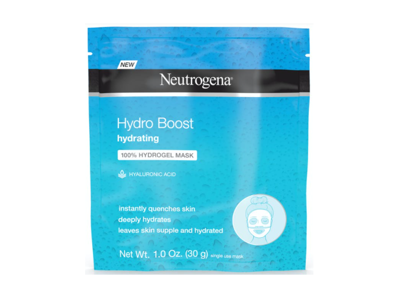 Neutrogena Hydro Boost Hydrating 100% Hydrogel Mask, 1 oz/30 g