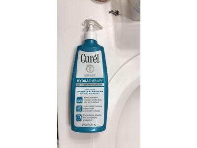 Curel Hydra Therapy Wet Skin Moisturizer, 12 Ounce - Image 3