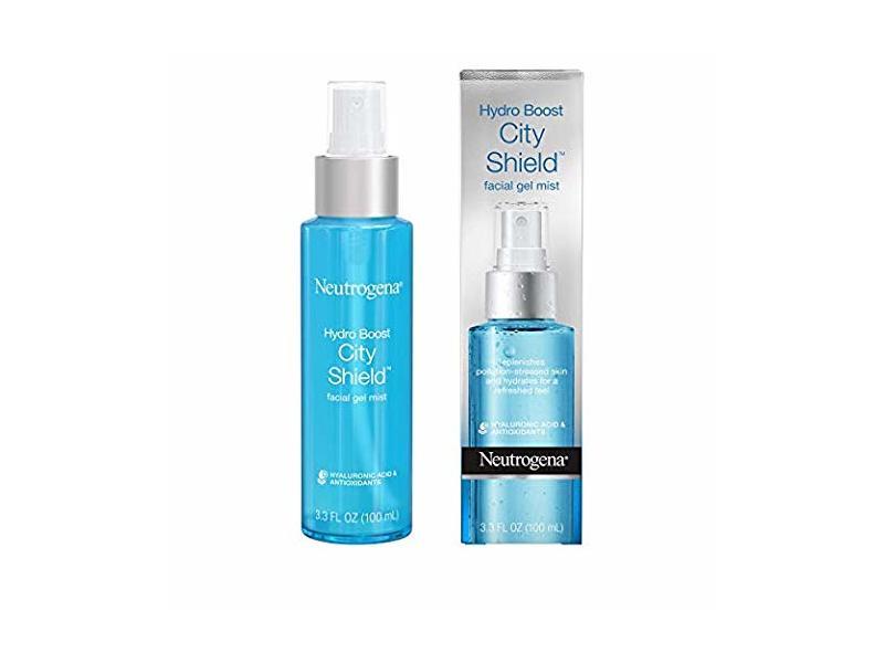 Neutrogena Hydro Boost City Shield Replenishing Facial Gel Mist, 3.3 fl oz (Pack of 2)