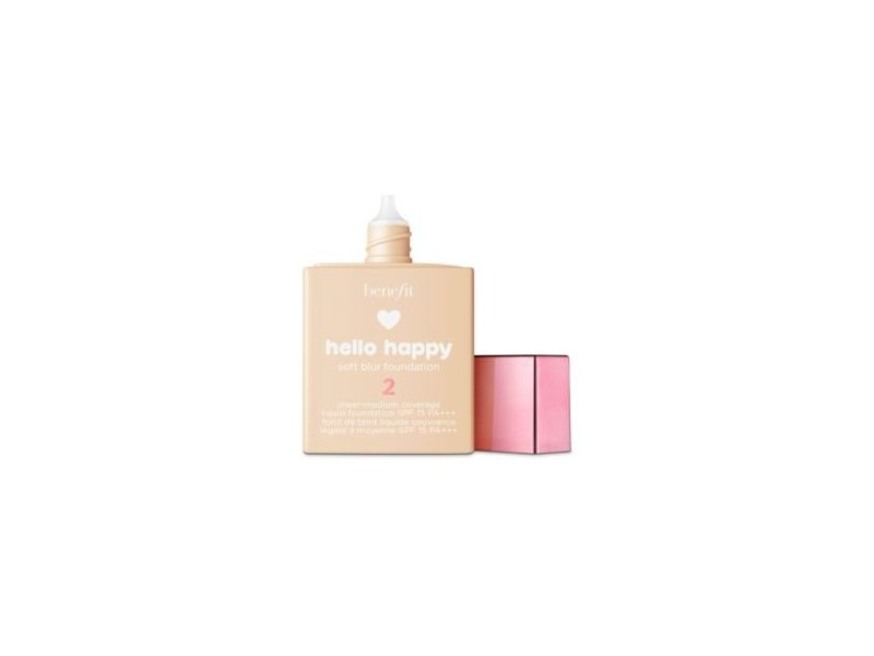 Benefit Cosmetics Hello Happy Soft Blur Foundation, Shade 2, 1 oz