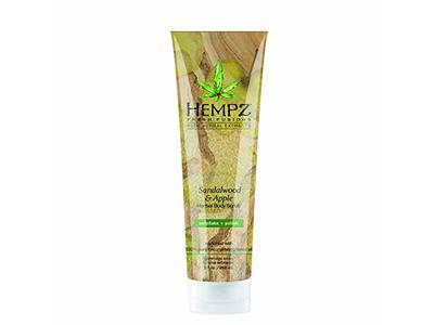 Hempz Herbal Body Scrub, Sandalwood & Apple, 9 fl oz/265 ml