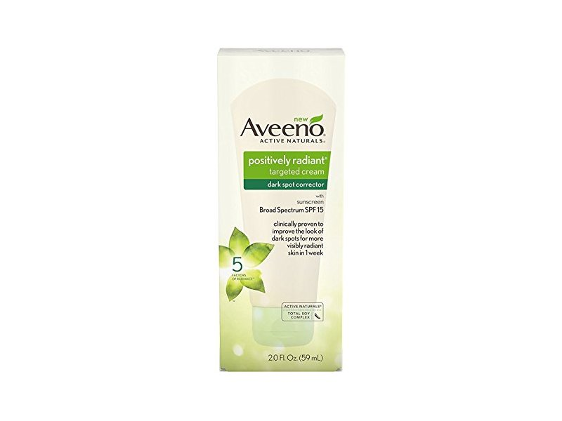 Aveeno Positively Radiant Dark Spot Corrector Spf#15 2 Ounce (59ml) (2 Pack)