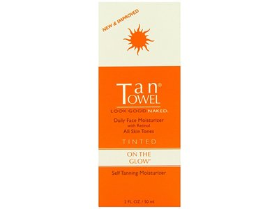 TanTowel On the Glow, Tinted, 2 fl oz