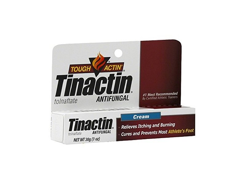 Tinactin Tough Actin tolnaftate Antifungal Cream, 1 oz (5 Pack)
