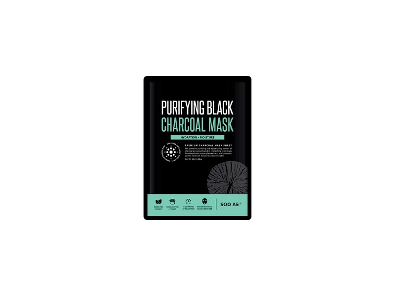 SooAE Purifying Black Charcoal Mask