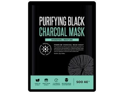 SooAE Purifying Black Charcoal Mask