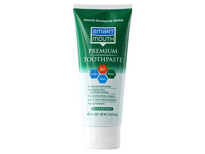 SmartMouth Premium Toothpaste, Travel Friendly 3.4 Ounce Size