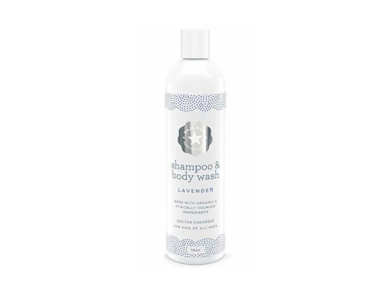 Baja Baby Shampoo and Body Wash Lavender, 16 fl oz