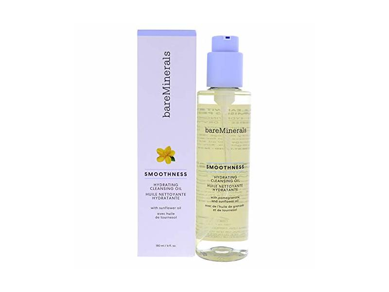 Bare Minerals Smoothness Hydrating Cleansing Oil, 6 fl oz/180 mL
