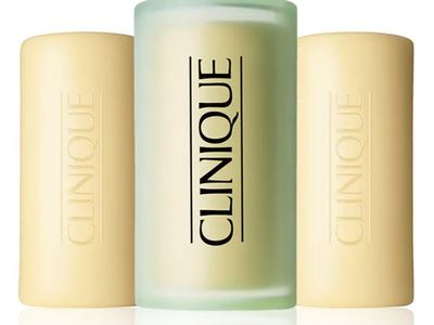 Clinique 3 Little Soaps, Mild, 5.2 oz