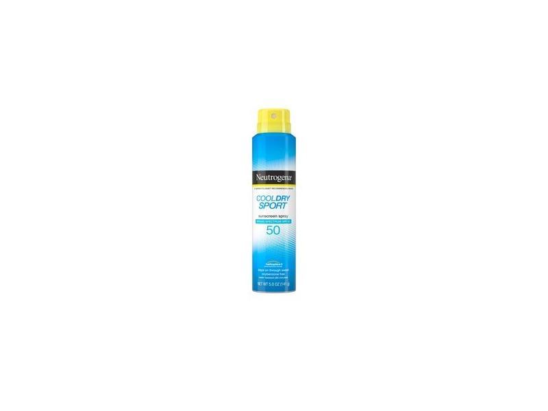 Neutrogena CoolDry Sport Water-Resistant Sunscreen Spray SPF 50