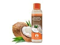 GuruNanda Fractionated Coconut Oil Cold Pressed Coconut Oil, 4 fl oz - Image 2