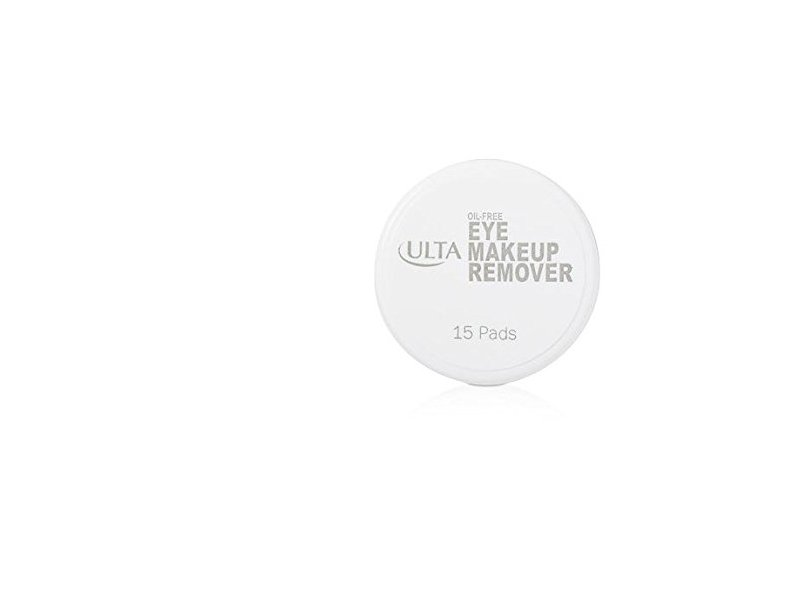 ULTA Travel Size Oil-Free Eye Makeup Remover, 15 count