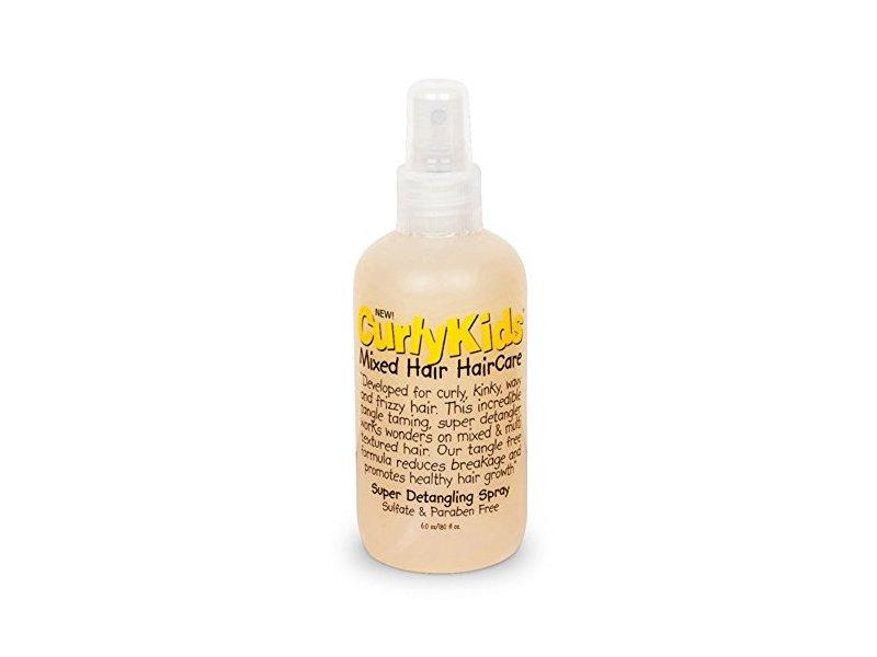 CurlyKids Mixed Haircare Super Detangling Spray, 6 oz
