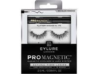 Eylure London Pro Magnetic Natural Fiber lashes, No.117, Black, 0.084 fl oz/2.5 mL - Image 2