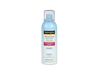 Neutrogena Ultra Sheer® Body Mist Sunscreen, Broad Spectrum SPF 30, 5.0 oz