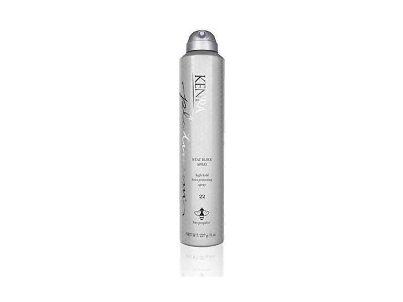 Kenra Platinum Heat Block Spray #22, 55% VOC, 8-Ounce