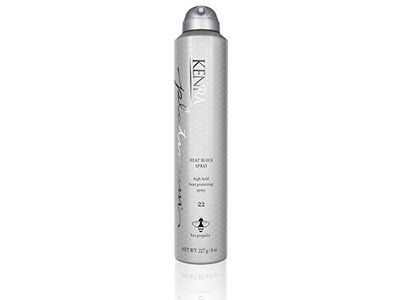 Kenra Platinum Heat Block Spray #22, 55% VOC, 8-Ounce