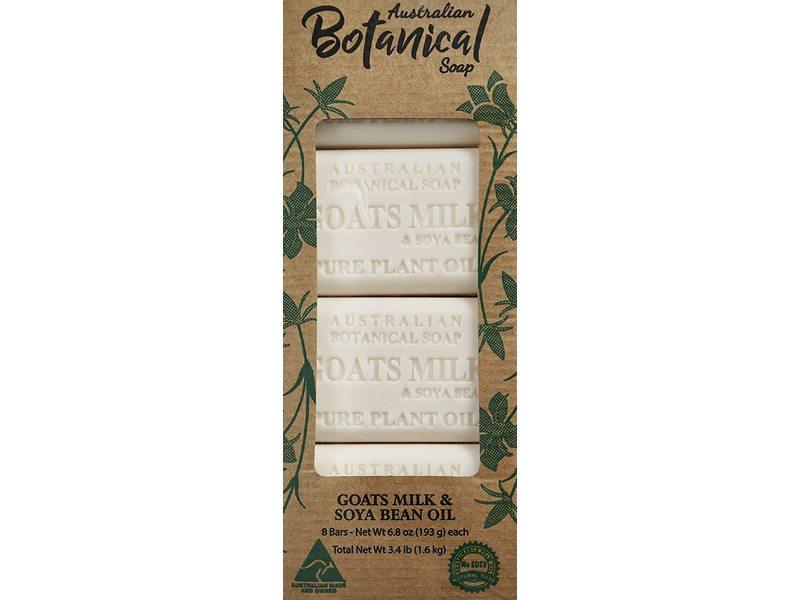 Australian Botanical Soap Goats Milk and Soya Bean Oil, 8*9.8 oz/193 g
