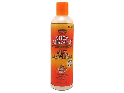 Africa Pride Shea Miracle Silky Curls Moisturizer 12 Ounce (354ml) (2 Pack)