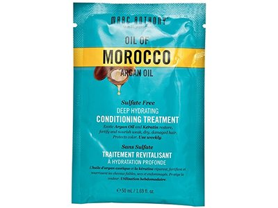 Marc Anthony True Professional Oil of Morocco Argan Oil Sulfate Free Deep Hydrating Conditioning Treatment, 1.69 fl oz