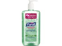 Purell Advanced Hand Sanitizer, Soothing Gel, 33.8 fl oz/1 L - Image 2