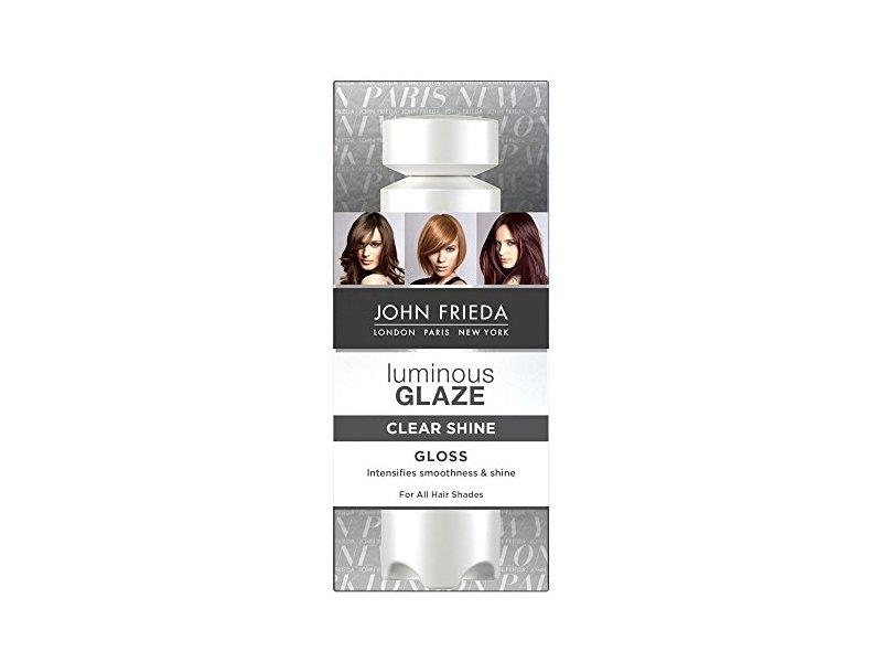 John Frieda Luminous Glaze Clear Shine Gloss, 6.5 Ounces
