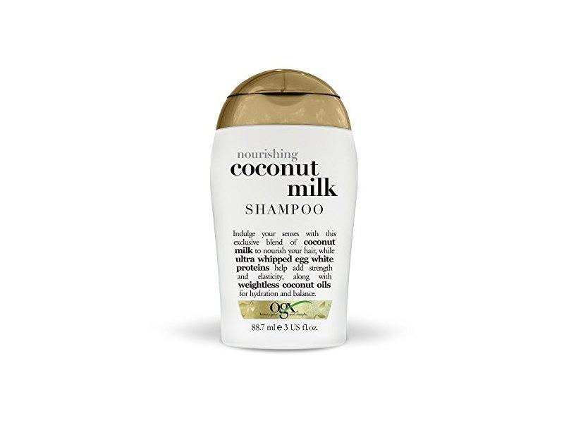 OGX Nourishing Coconut Milk Shampoo, 88.7 mL