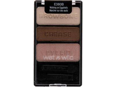 wet n wild Wild Perfect Eye Set, Megaprotein Mascara & Color Icon Eyeshadow Trio, Walking On Eggshells