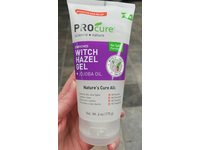 PROcure Witch Hazel Gel + Organic Jojoba Oil, 6 Ounce Tube - Image 3