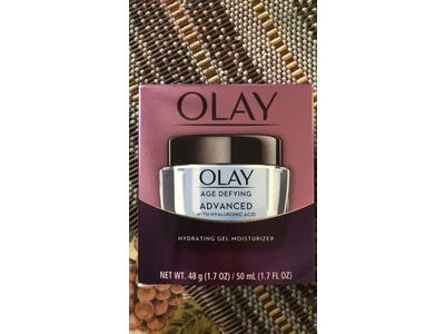 Olay Age Defying AdvancedGel Cream Moisturizer with Hyaluronic Acid for Dry Skin, 50 mL, 1.7 oz - Image 8
