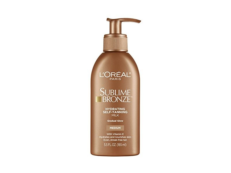 L'Oreal Paris Skin Care Sublime Bronze Hydrating Self-Tanning Milk, 5.5 ounce