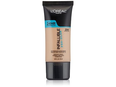 L'Oreal Paris Cosmetics Infallible Pro-Glow Foundation, Natural Buff, 1 Fluid Ounce